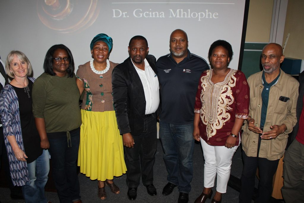 Renowned Storyteller Dr Gcina Mhlophe grips audience with magical songs