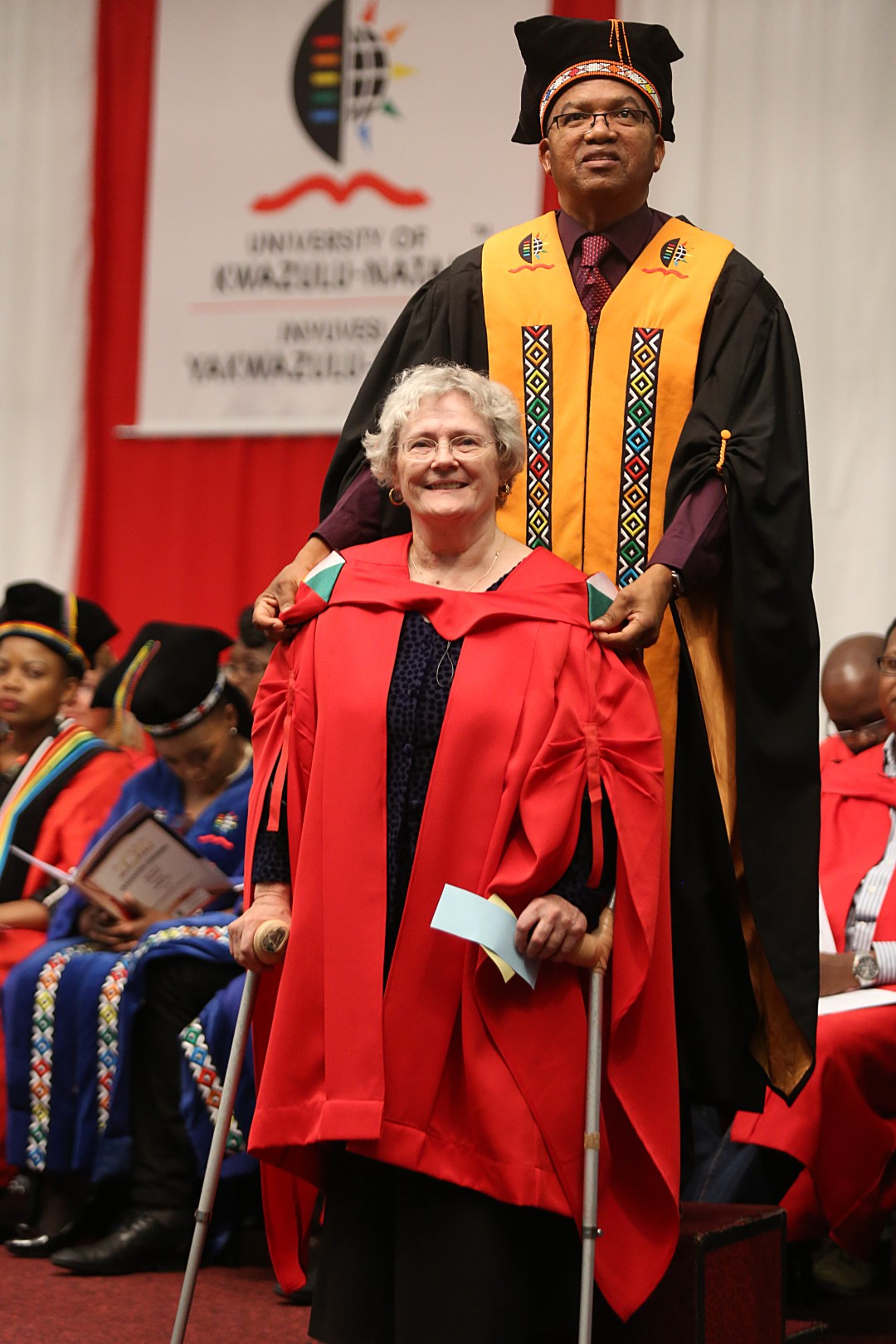 Dr Elizabeth Martiny graduated with her PhD in Religion and Theology from UKZN.