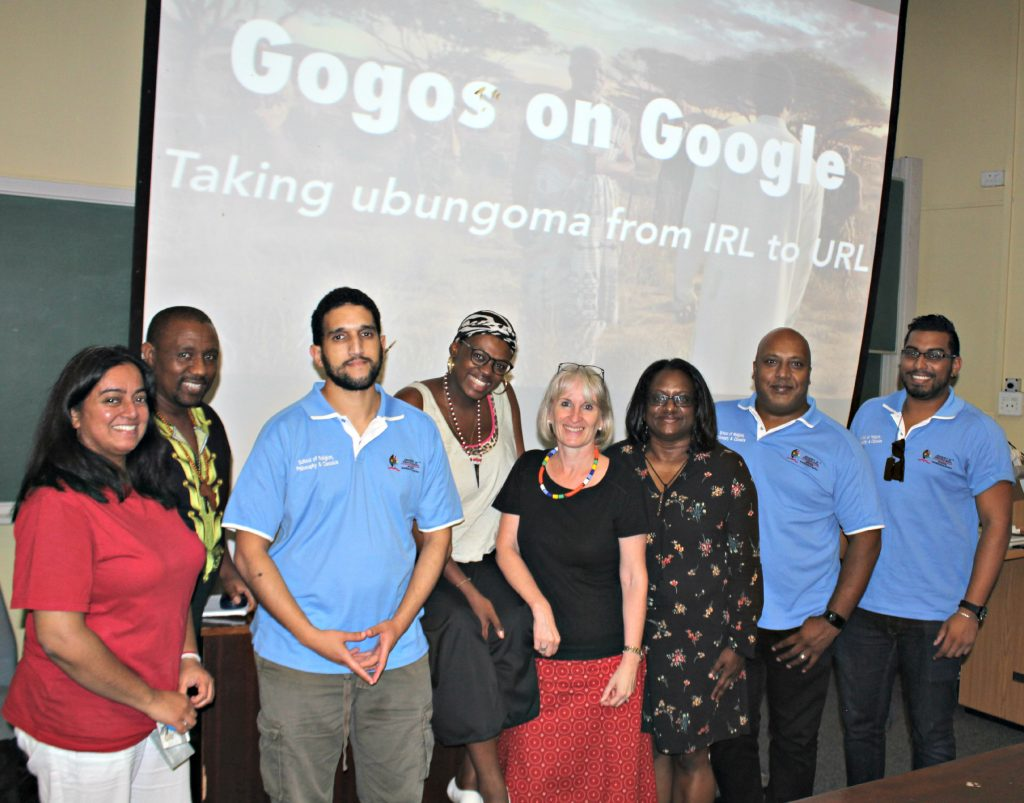 Renowned i-Sangoma Nokulinda Mkhize gives guest lecture at UKZN
