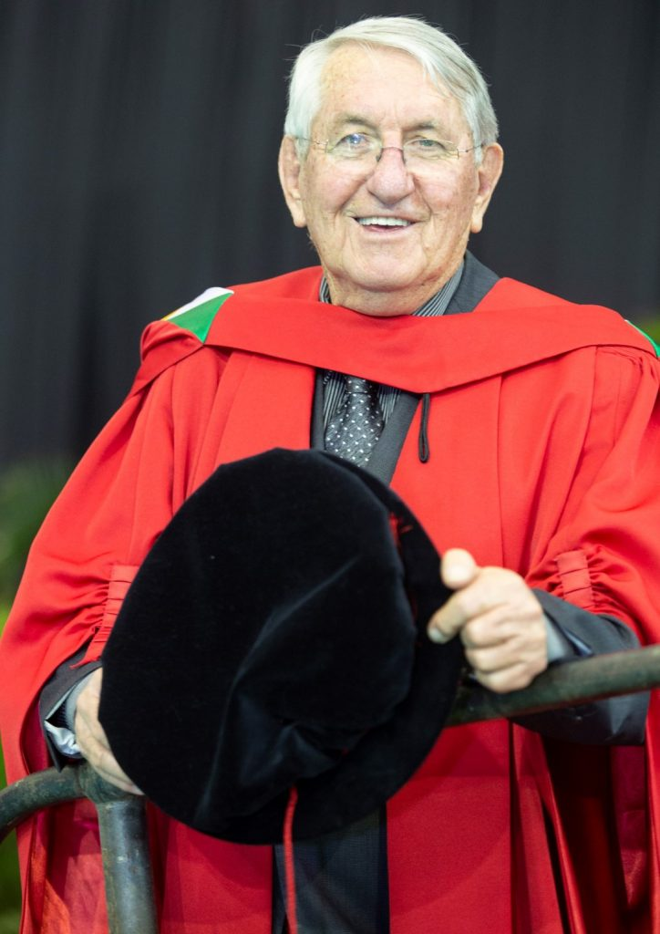 PhD for 79-year-old Theology Graduate