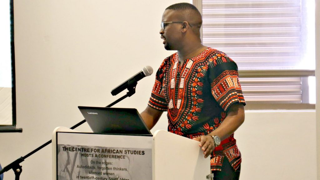 Religion Student Presents Doctoral Research Findings at UCT Conference