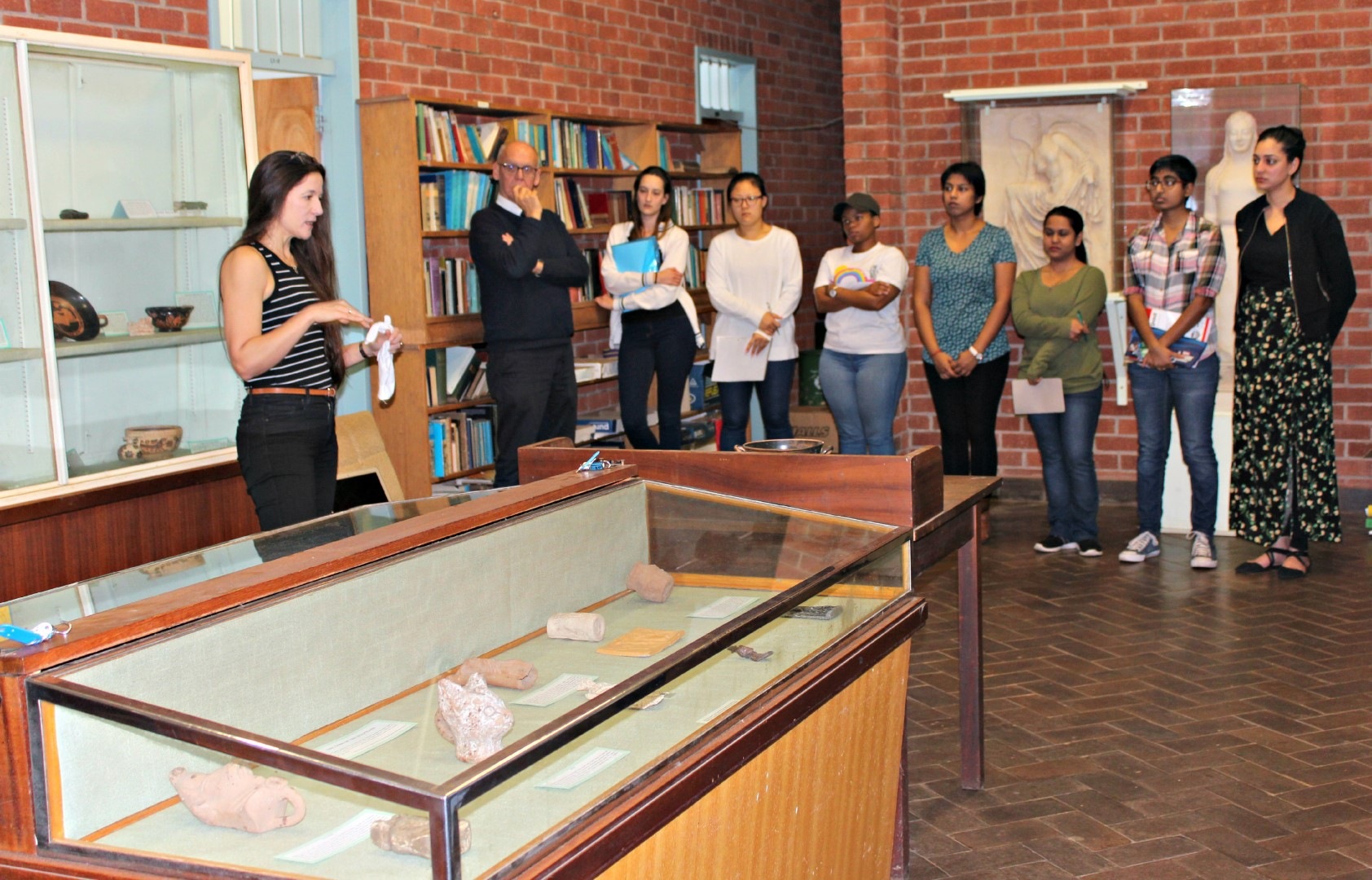 Material Culture and Archaeological Tools Workshop at UKZN Classics Museum
