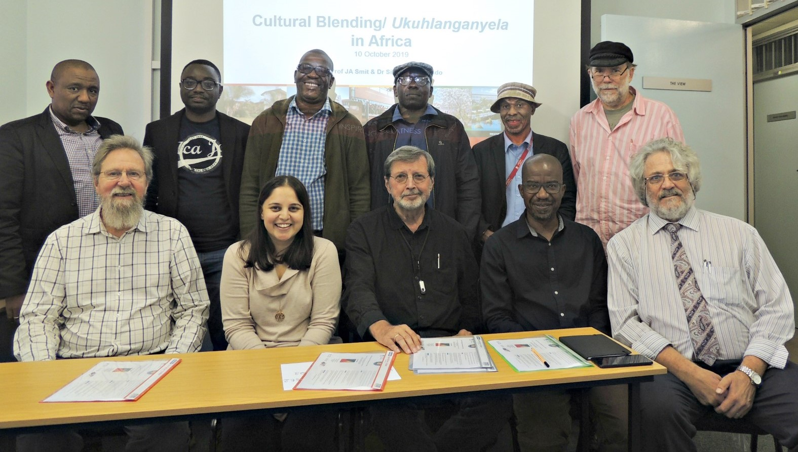Highlights from the first Interdisciplinary Cultural Blending/ Ukuhlanganyela in Africa Colloquium.